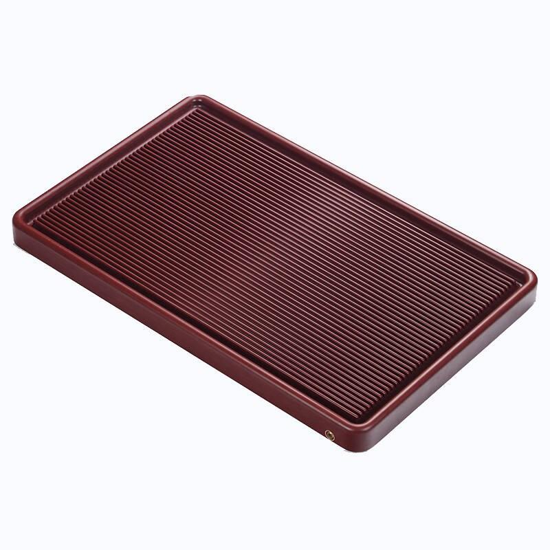 家用排水式整块红料电木茶盘
