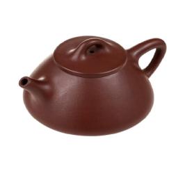 宜兴紫砂子冶石瓢功夫茶壶壶
