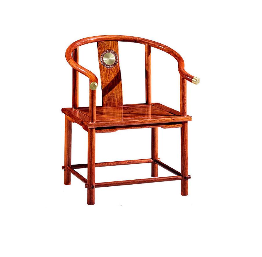 檀卉红木家具非洲花梨新中式禅意茶桌椅组合