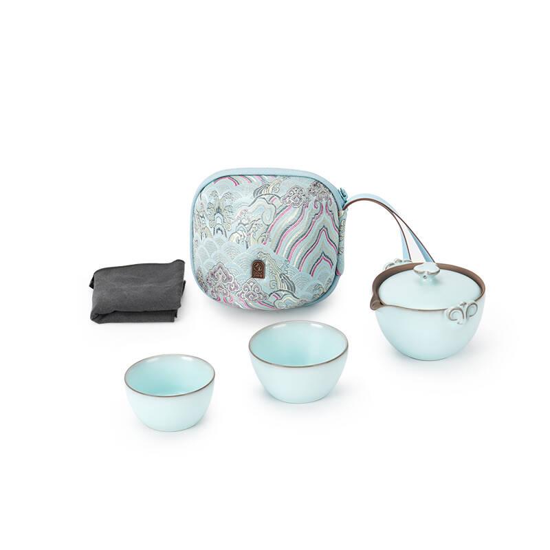 万仟堂(Edenus)陶瓷茶具快客杯