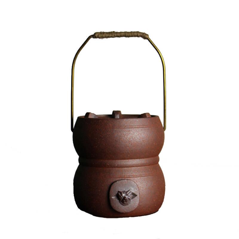 潮汕风炉红泥炉便携木炭茶炉富贵炉功夫煮茶炉