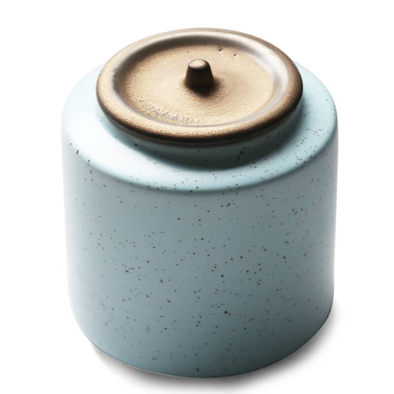苏氏陶瓷(SUSHI CERAMICS)经典亚光茶叶罐茶具配件