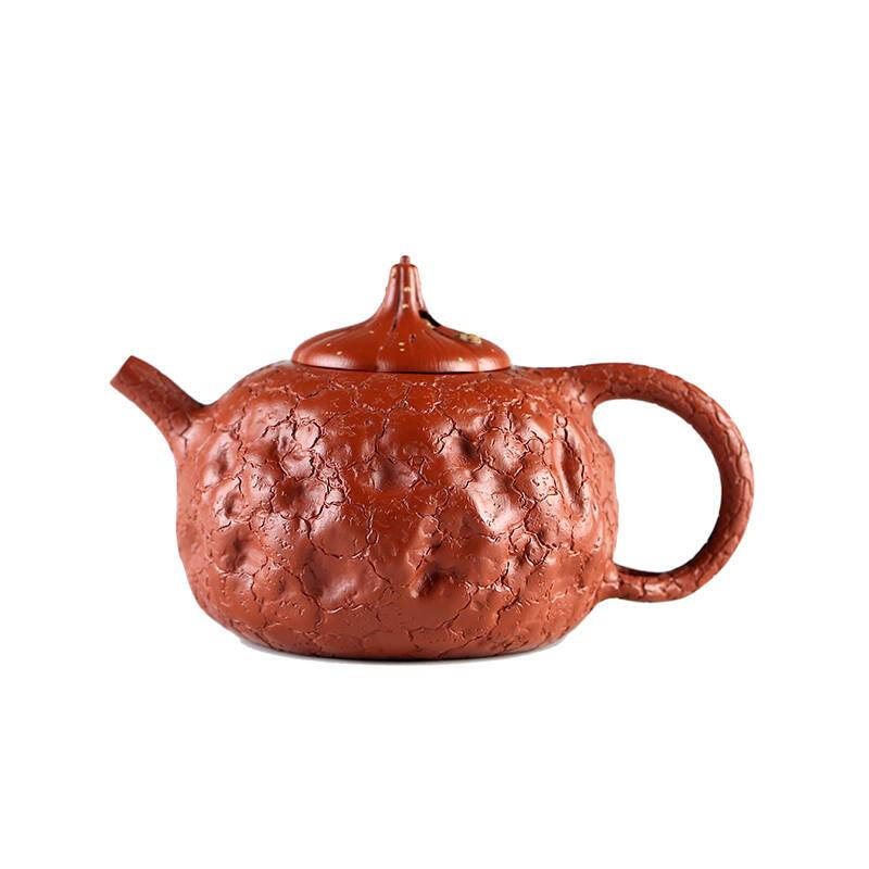 紫砂原矿大红袍供春壶